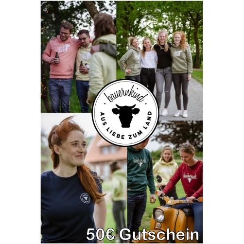 Bauernkind Gutschein 50 €
